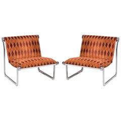 Sling Lounge Chairs by Hannah Morrison for Knoll International
