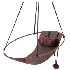 Sling Oil Tanned Leather Brown