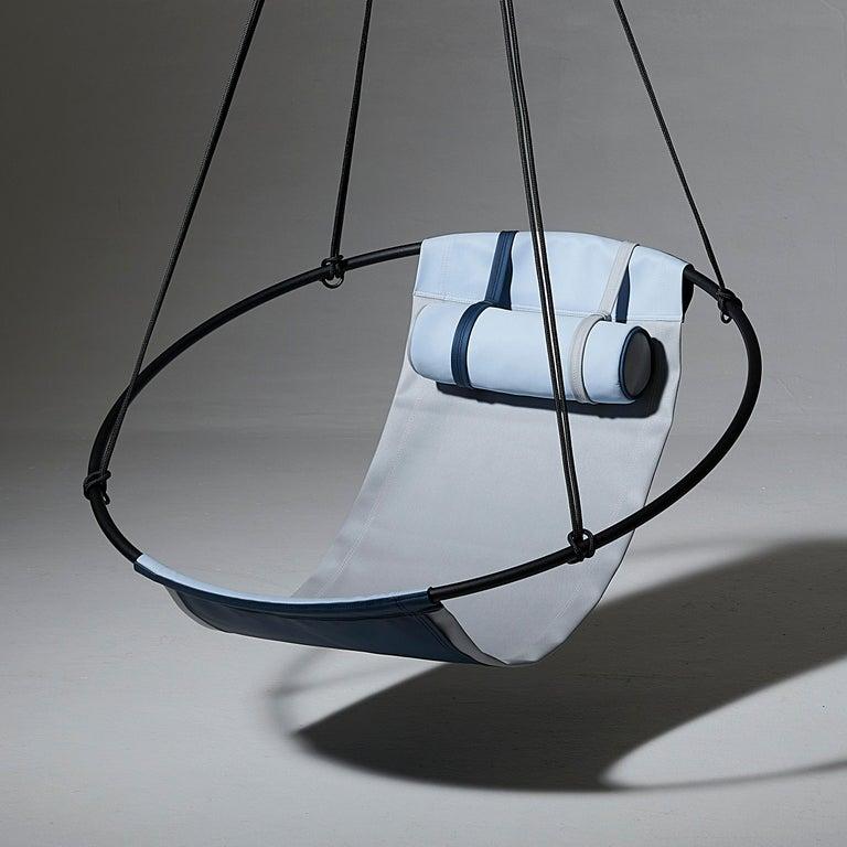 Sling Outdoor Hanging Swing Seat, Vegan Enviro Friendly For Sale 2