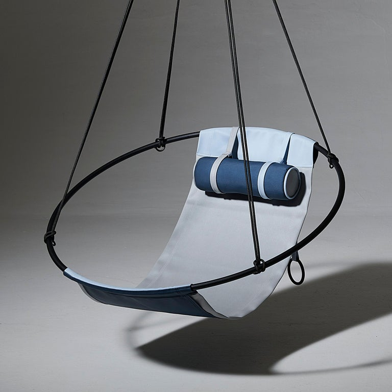 Sling Outdoor Hanging Swing Seat, Vegan Enviro Friendly For Sale 3