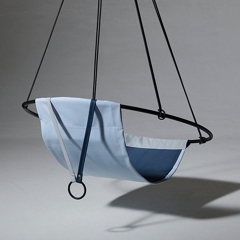 Sling Outdoor Hanging Swing Seat, Vegan Enviro Friendly For Sale 4