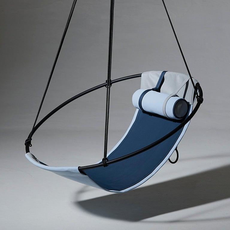 Sling Outdoor Hanging Swing Seat, Vegan Enviro Friendly For Sale 5