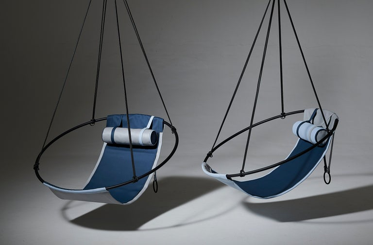 Sling Outdoor Hanging Swing Seat, Vegan Enviro Friendly For Sale 7