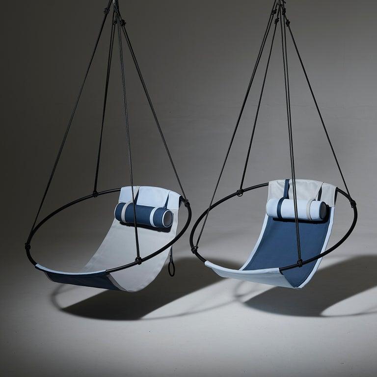 Sling Outdoor Hanging Swing Seat, Vegan Enviro Friendly For Sale 8