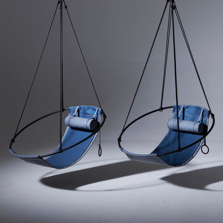 South African Sling Outdoor Hanging Swing Seat, Vegan Enviro Friendly For Sale