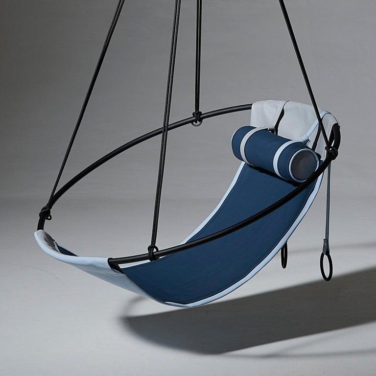 Welded Sling Outdoor Hanging Swing Seat, Vegan Enviro Friendly For Sale