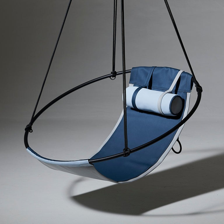 Sling Outdoor Hanging Swing Seat, Vegan Enviro Friendly For Sale 1