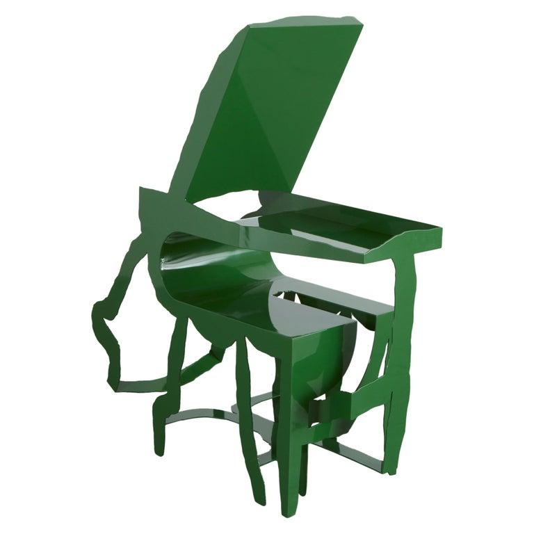 """Slipova"" Sculptural Chair by Serban Ionescu, 2019 For Sale"