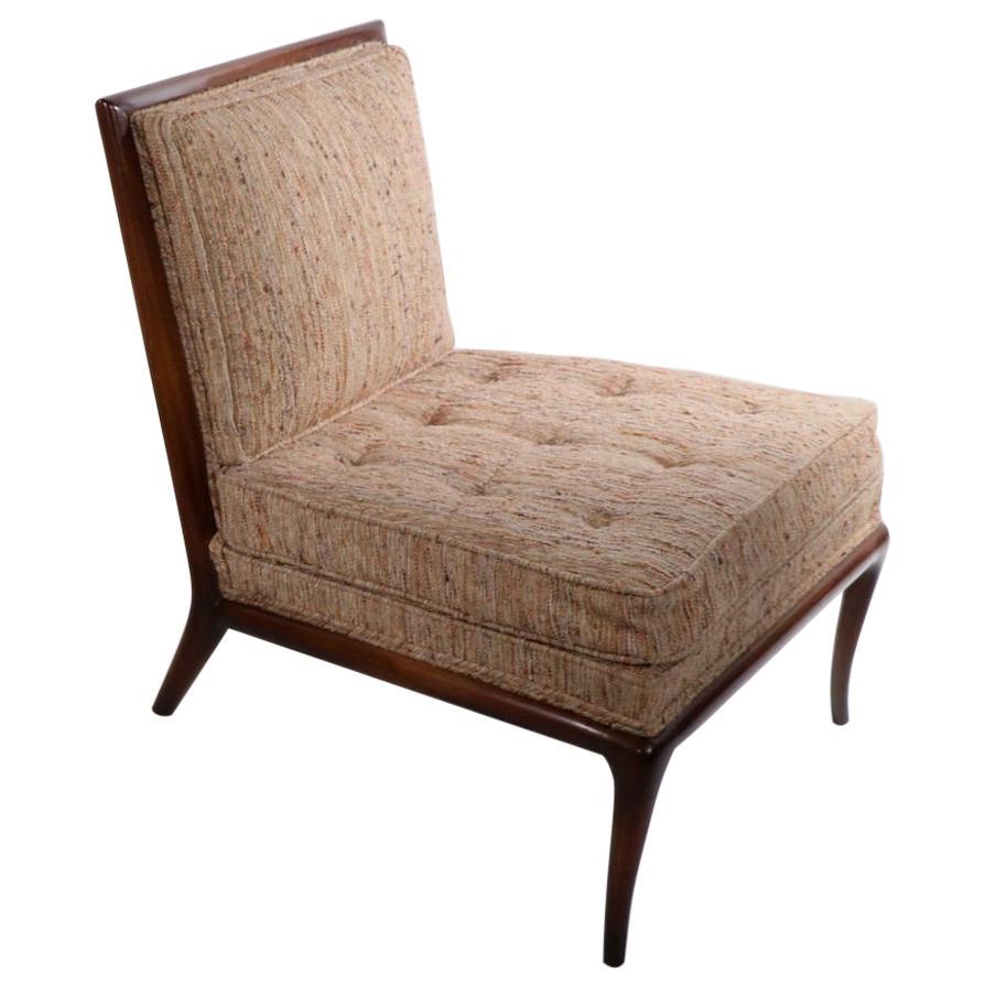 Slipper Chair Designed by T H Robsjohn Gibbings for Widdicomb