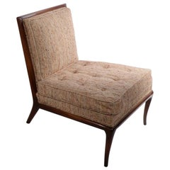 Slipper Chair Designed by T H Robsjohn Gibbings for Widdicomb