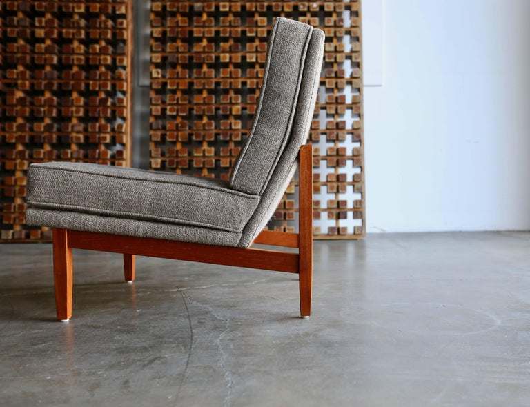Mid-Century Modern Slipper Lounge Chairs by Florence Knoll
