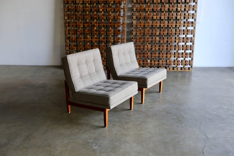 American Slipper Lounge Chairs by Florence Knoll