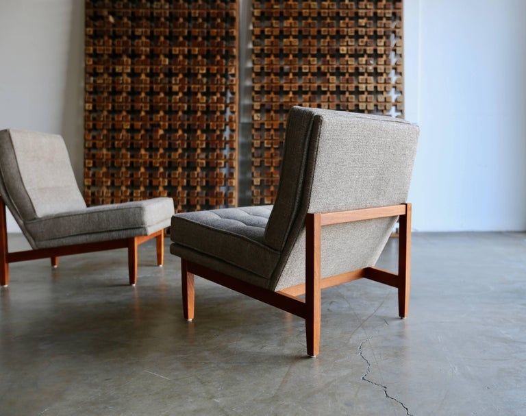 20th Century Slipper Lounge Chairs by Florence Knoll