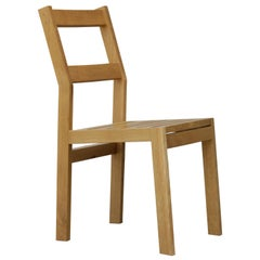 Sluyters Dining Chair in Quarter Sawn White Oak