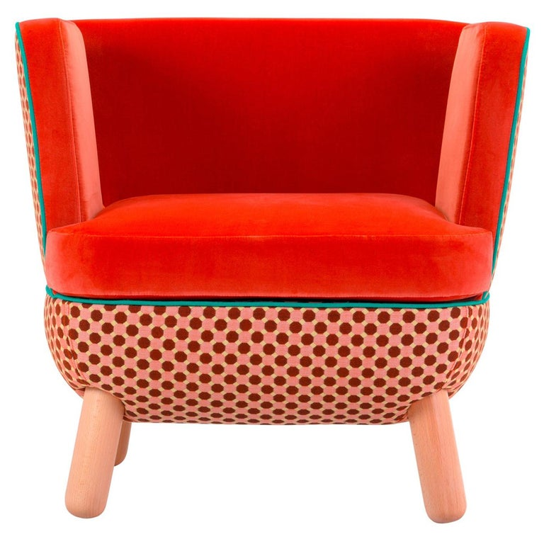 Sly Low Armchair Rombi with Ropes by Italo Pertichini For Sale
