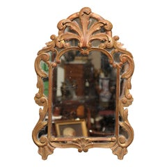 Small 18th Century French Louis XV Mirror