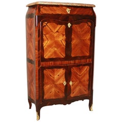 Small 18th Century Louis XV Fall Front Kingwood Secretaire