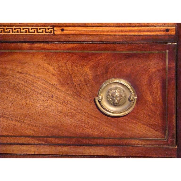Small 18th Century Mahogany Secretaire Bookcase For Sale 1