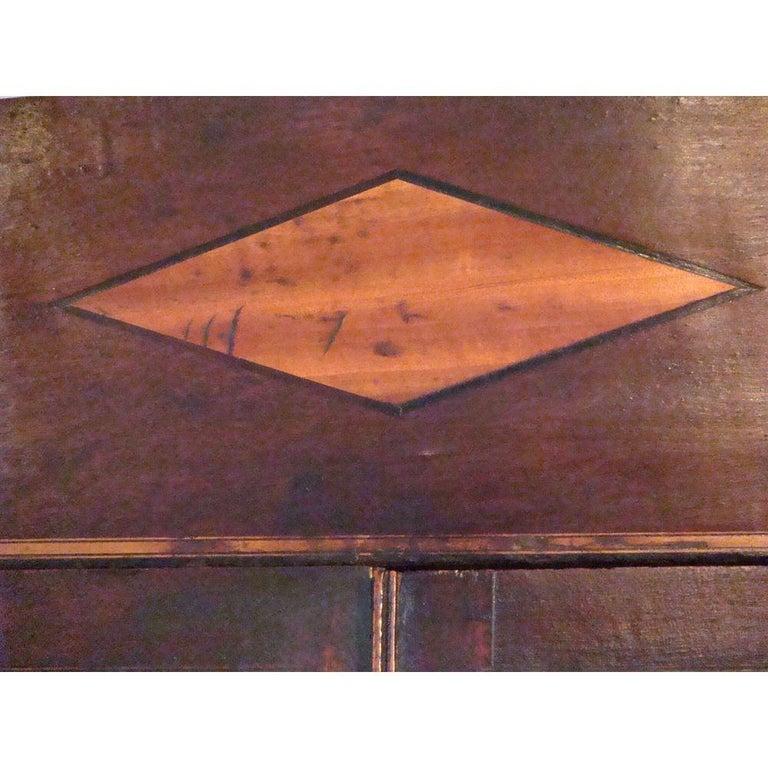 Small 18th Century Mahogany Secretaire Bookcase For Sale 5