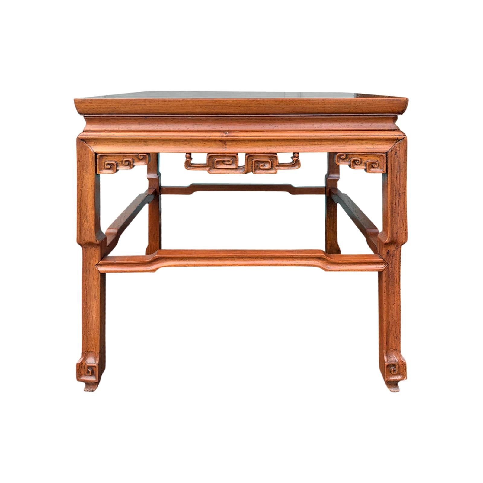 Small 19th Century Chinese Square Drinks or Coffee Table