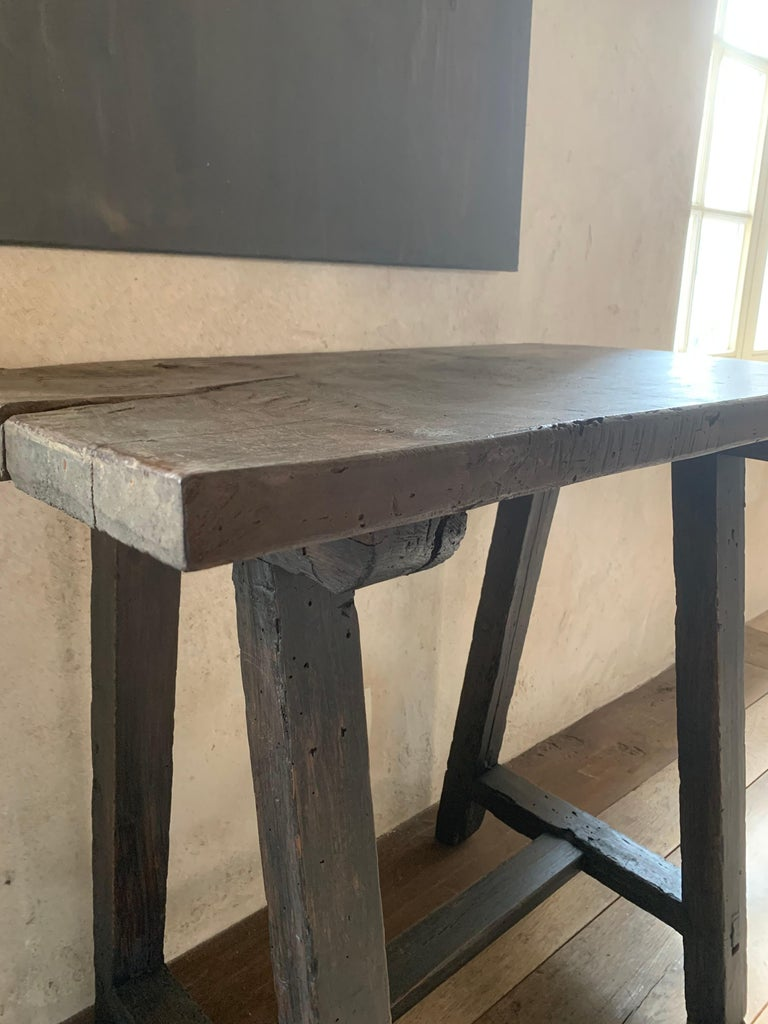 Small 19th Century Console Side Table In Good Condition In Vosselaar, BE