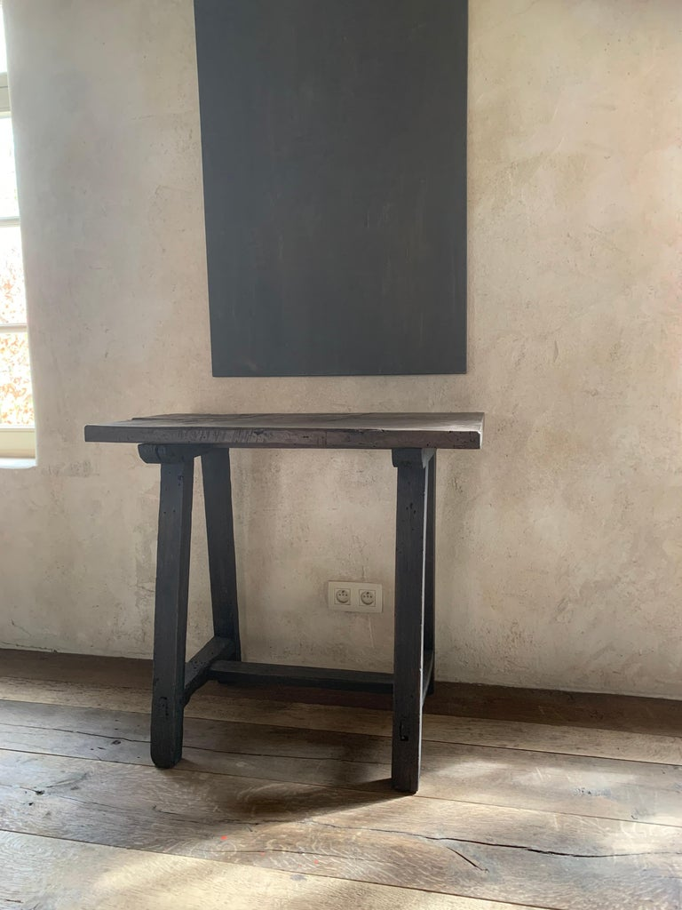 Small 19th Century Console Side Table 2