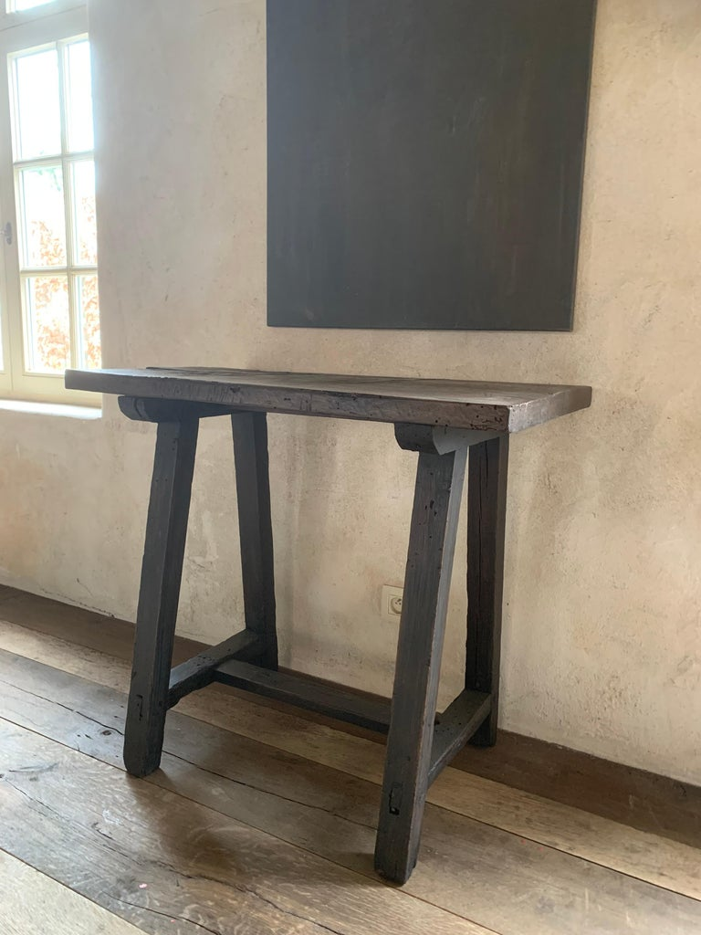 Small 19th Century Console Side Table 3