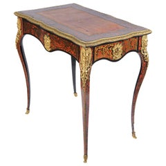 Small 19th Century French Boulle Bureau Plat