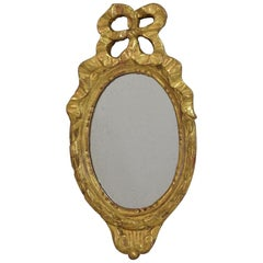 Small 19th Century French Giltwood Mirror