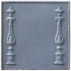 Small 19th Century French Neoclassical Fireback