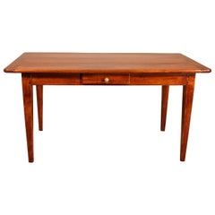 Small 19th Century Refectory Table in Cherry Wood-France