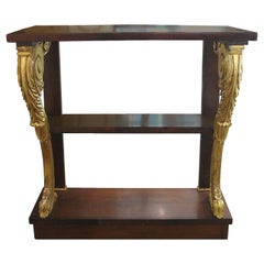 Small 19th Century Regency Style Drinks Table with Giltwood Detail