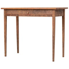 Small 19th Century Swedish Gustavian Side Table