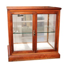 Small 19th Century Victorian Display Cabinet