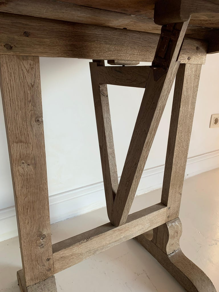 Hand-Crafted Small 19th Century Wine Table Vigneron For Sale