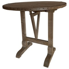 Small 19th Century Wine Table Vigneron