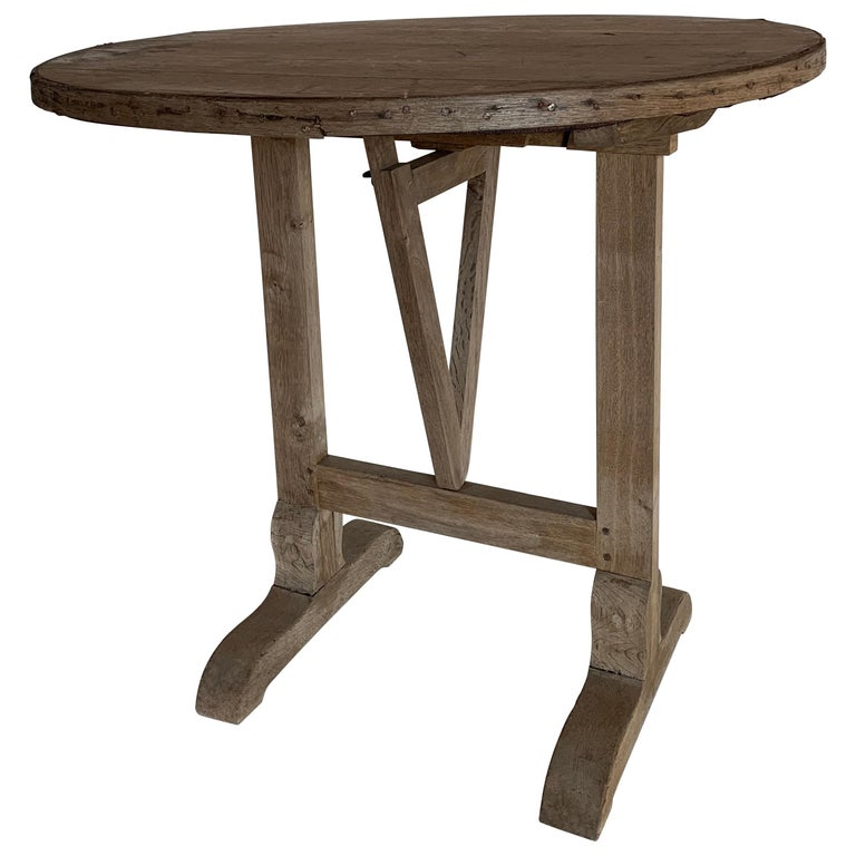 Small 19th Century Wine Table Vigneron For Sale