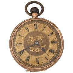 Small 9 Karat Gold Hans-Winding Antique Fob / Pocket Watch