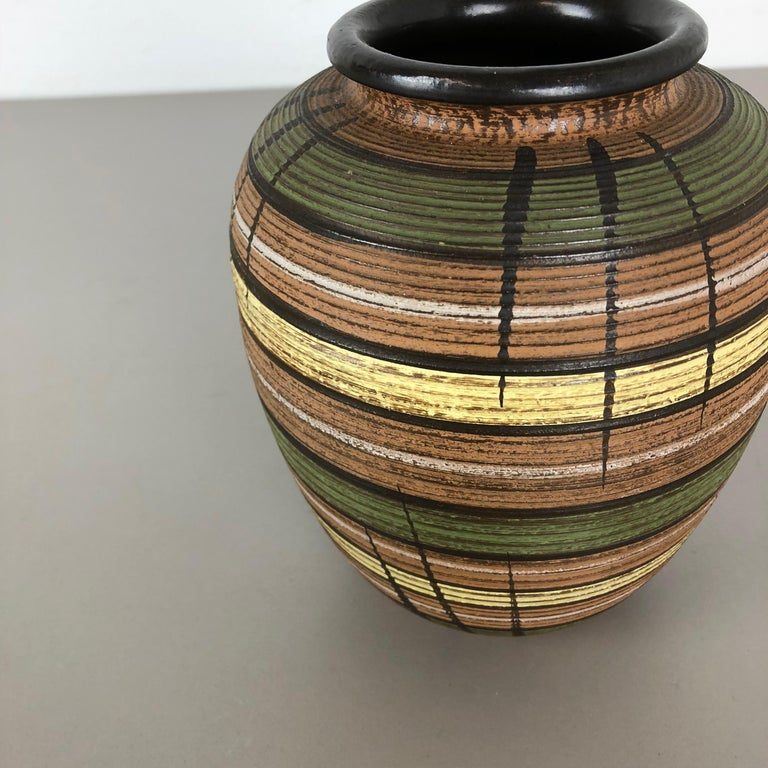Small Abstract Ceramic Pottery Vase by Dümmler and Breiden, Germany, 1950s For Sale 6