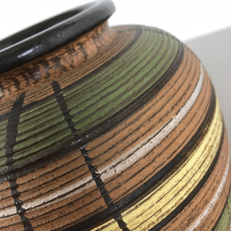 Small Abstract Ceramic Pottery Vase by Dümmler and Breiden, Germany, 1950s For Sale 8