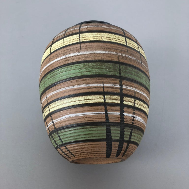 Small Abstract Ceramic Pottery Vase by Dümmler and Breiden, Germany, 1950s For Sale 9