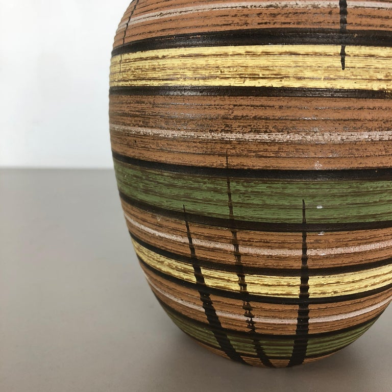20th Century Small Abstract Ceramic Pottery Vase by Dümmler and Breiden, Germany, 1950s For Sale