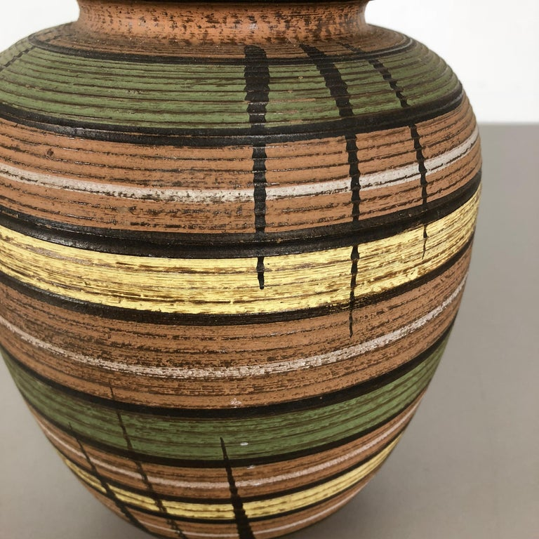 Small Abstract Ceramic Pottery Vase by Dümmler and Breiden, Germany, 1950s For Sale 1