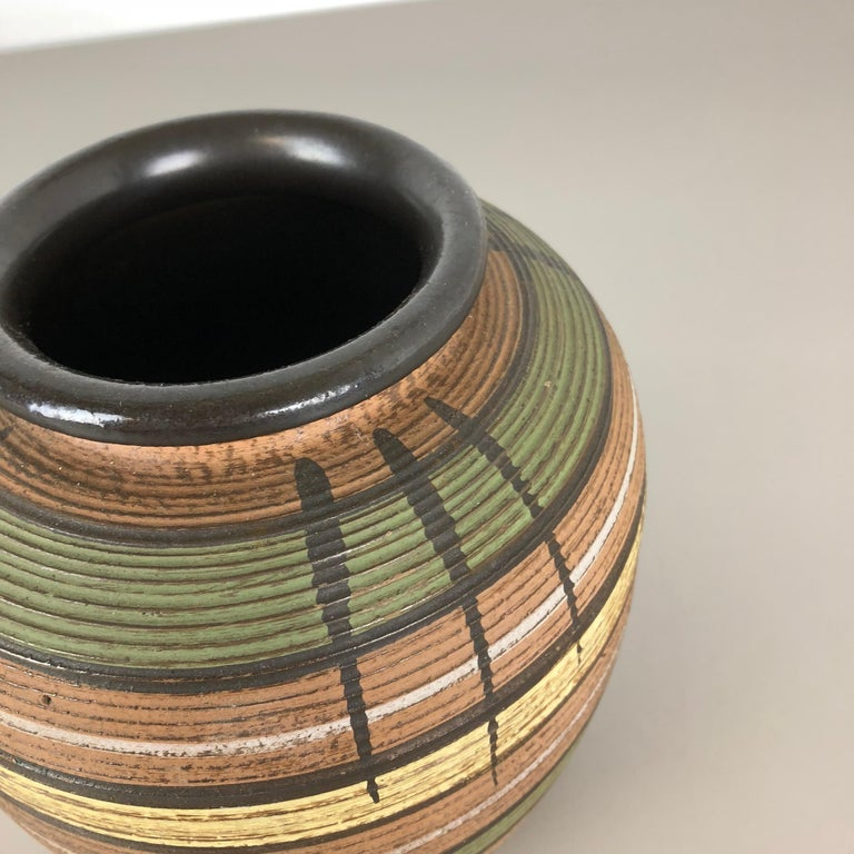 Small Abstract Ceramic Pottery Vase by Dümmler and Breiden, Germany, 1950s For Sale 3