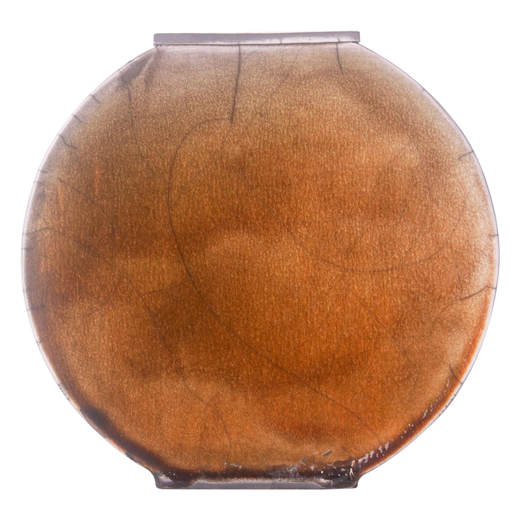 Small Amber Vase