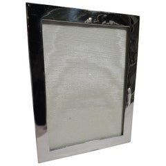 Small American Modern Sterling Silver Picture Frame by Gorham
