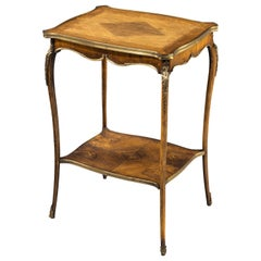 Small and Very Fine Quality Late 19th Century French Centre Table