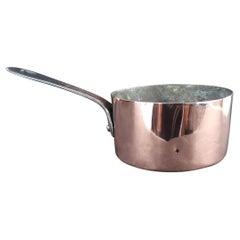 Small Antique Copper Pan, English 19th Century