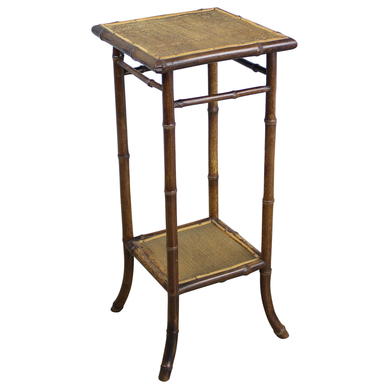 Surprising Small Antique English Bamboo Side Table Interior Design Ideas Tzicisoteloinfo