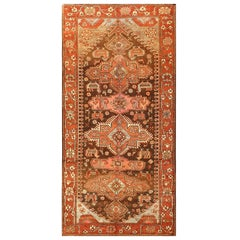 Small Antique Tribal Caucasian Kazak Rug